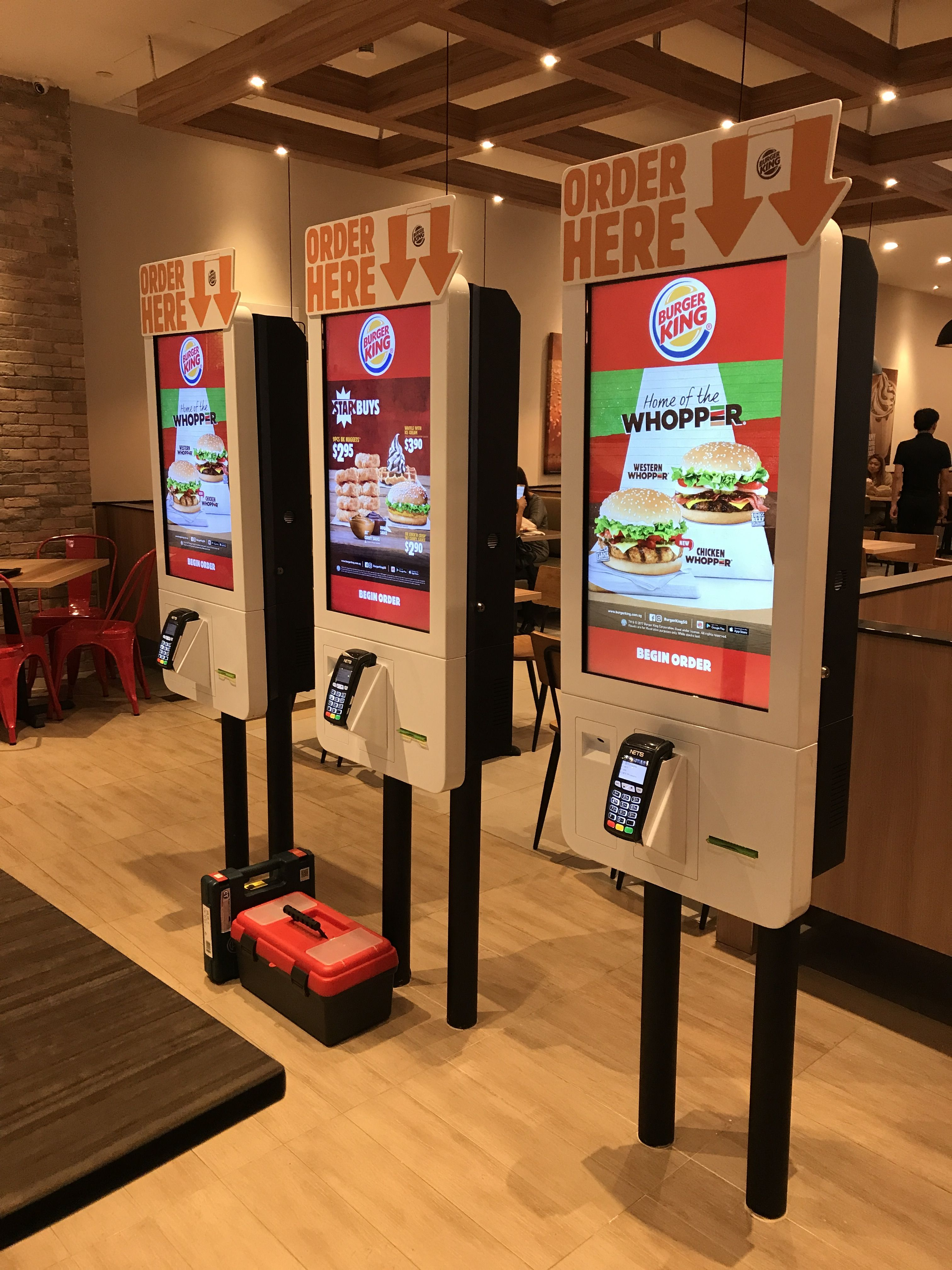 045ab8240b the digital kiosk can order customers meal in a minute