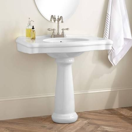 Pedestal Sink With Wide Ledge Google Search With Images