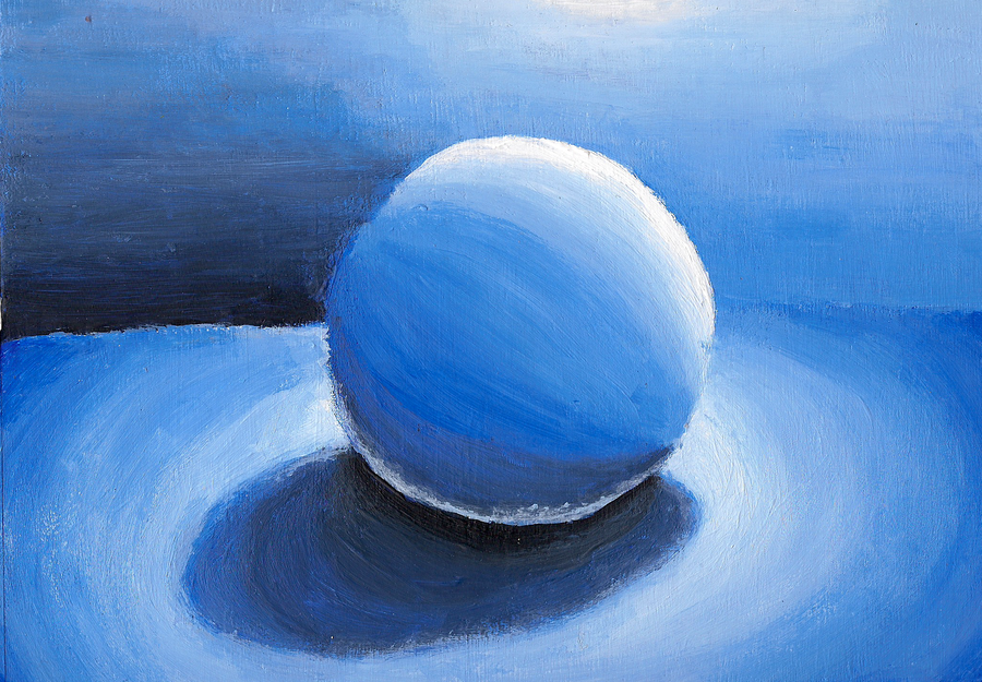 Monochromatic Color Study By Sageofmagic On Deviantart Monochromatic Art Monochromatic Paintings Value Painting