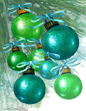 Christmas Ornaments I
