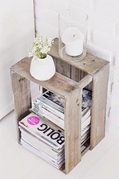 Cosas de la Abuela: 10 ideas para decorar tu boda con cajas y otras tantas para tu casa