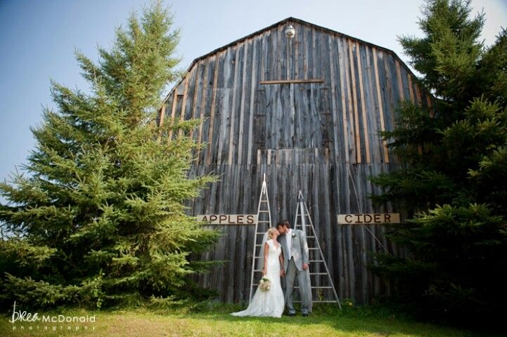 Apple orchard wedding? Yes please!!!