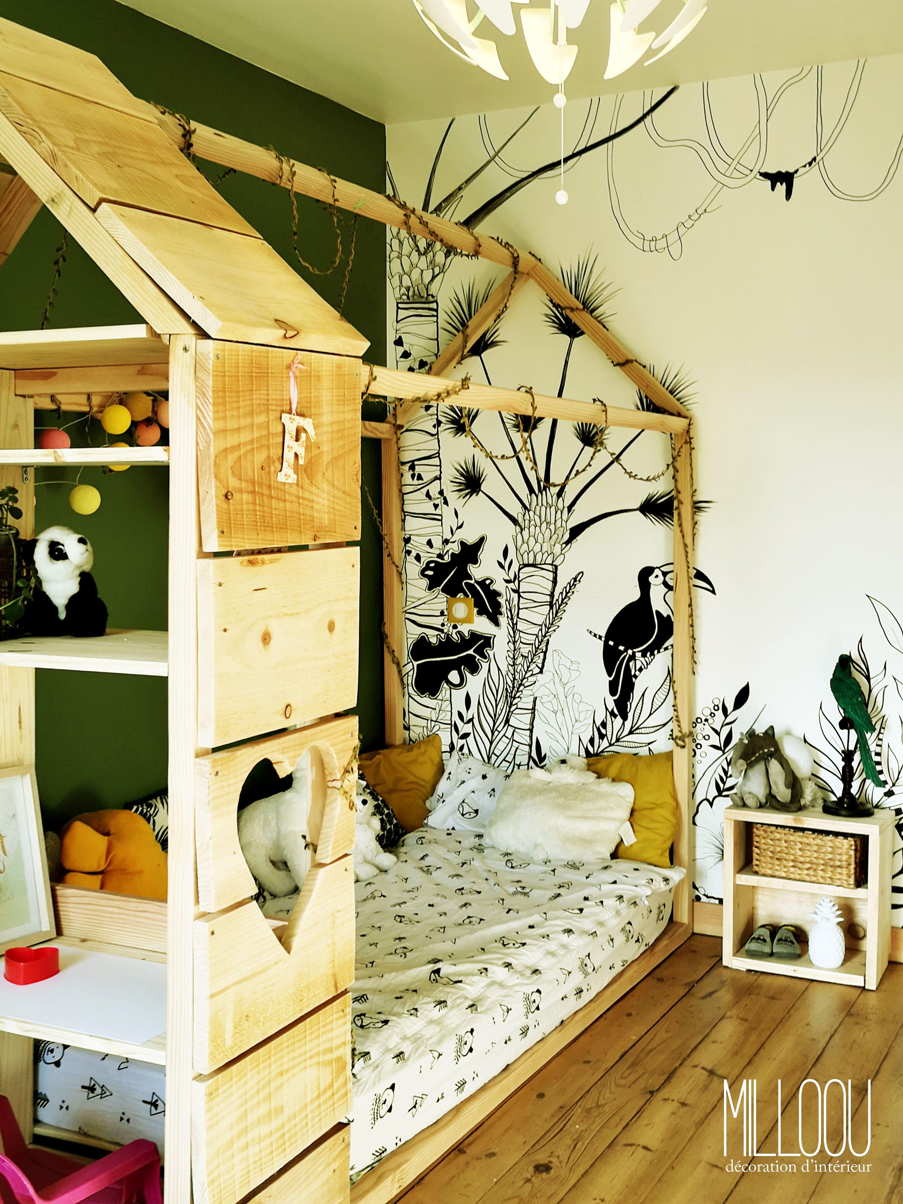 lit cabane enfant  Deco chambre enfant, Chambre enfant, Deco chambre