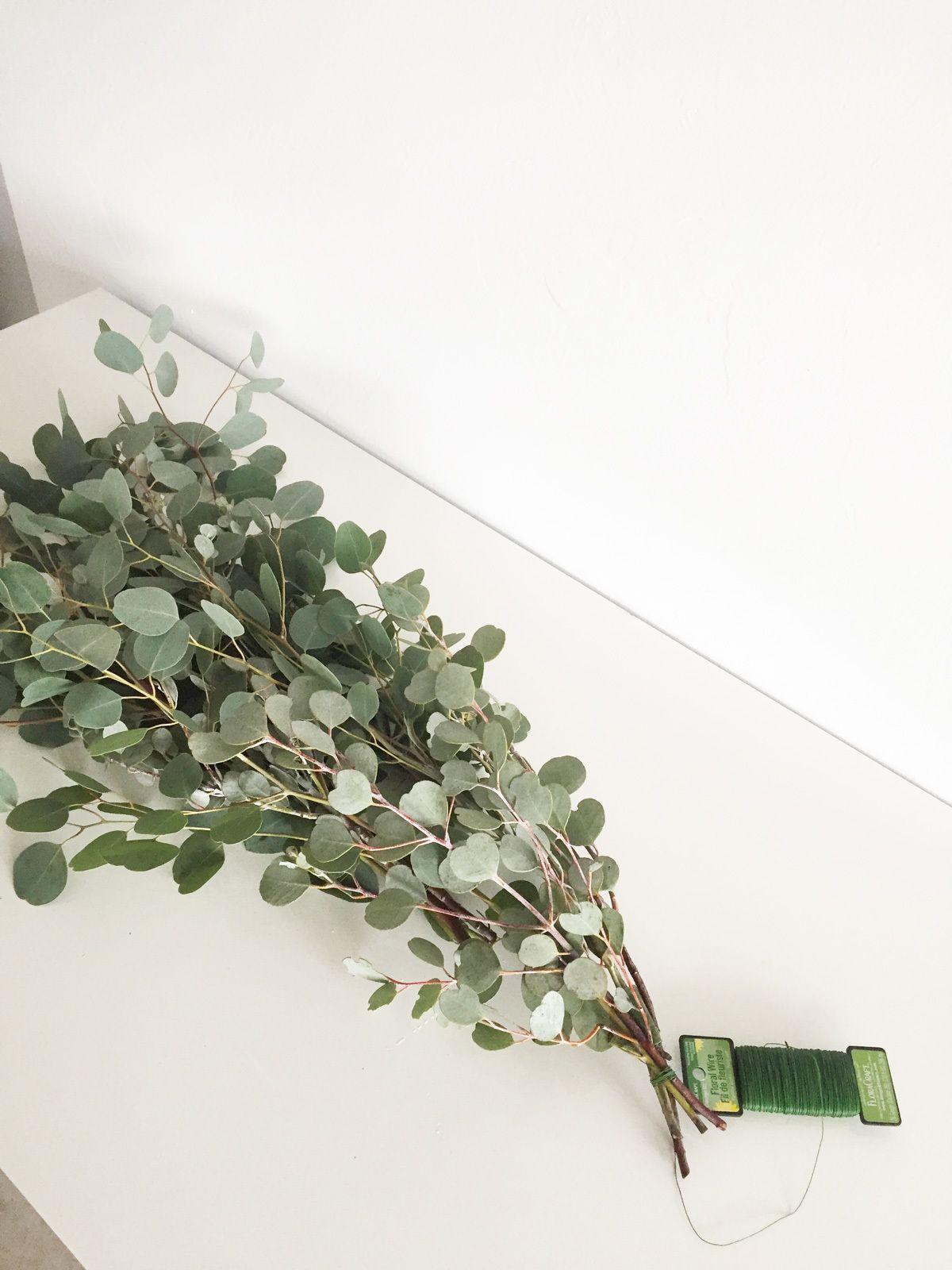 Pergola Diy Eucalyptus Garland With Fl Hanging Globes