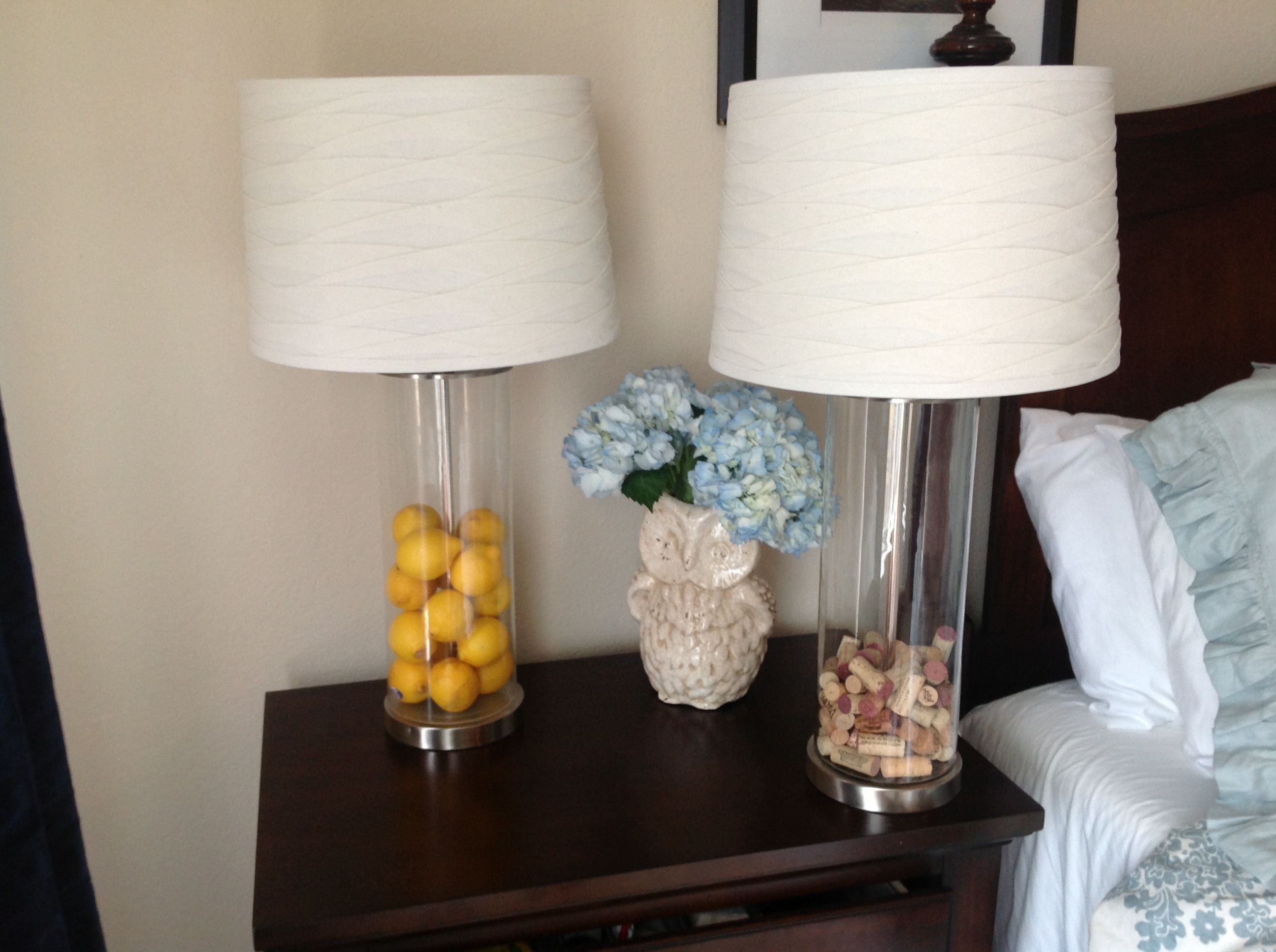 his and her fillable lamps from target