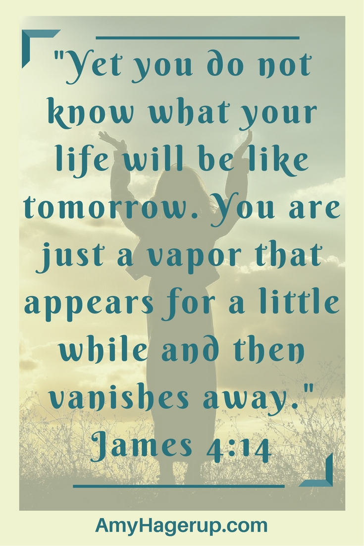 Religious Quotes About Life This Is What Your Life Is Like As Seen In James 414 Growing