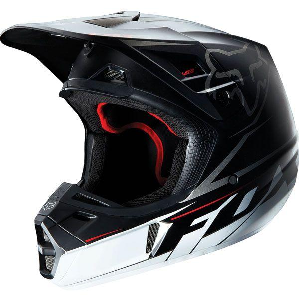 Fox Racing V2 Matte Helmet Helmet Motocross Helmets Youth Dirt