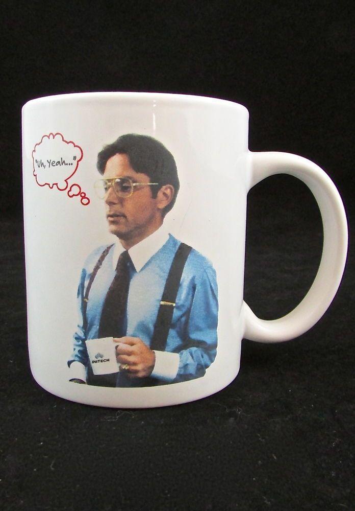 office space coffee mug. Office Space Bill Lumbergh Uh, Yeah Special Edition Coffee Mug #OfficeSpaceMovie #coffee # G