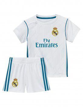 79e877c6543bc Kids Real Madrid C.F 2017-18 Season Home Los Blancos Kit  K217 ...