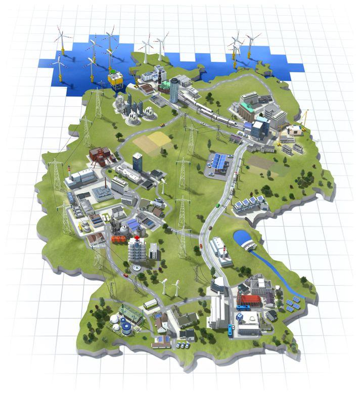 Siemens Die Zukunft der Energie - Energie, Infografik ...