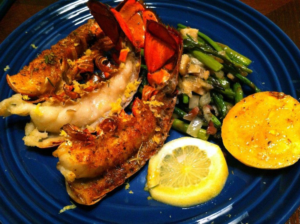 Broiled Lobster Tails in Herb Butter fastPaleo Primal