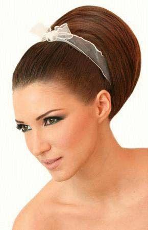 تسريحات بف ناعمه صور تسريحات للشعر الطويل اجمل التسريحات لربيع 2013 Hair Accessories Wedding Hair Adornments Hair Adornments