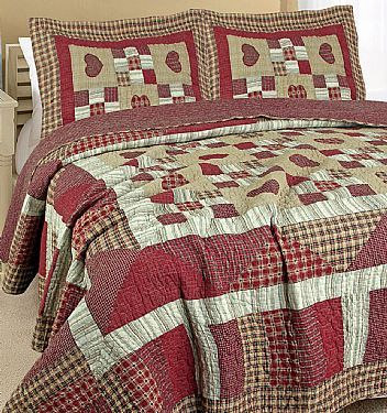 Pottery Barn Georgia Patchwork Quilt Quilts Pottery