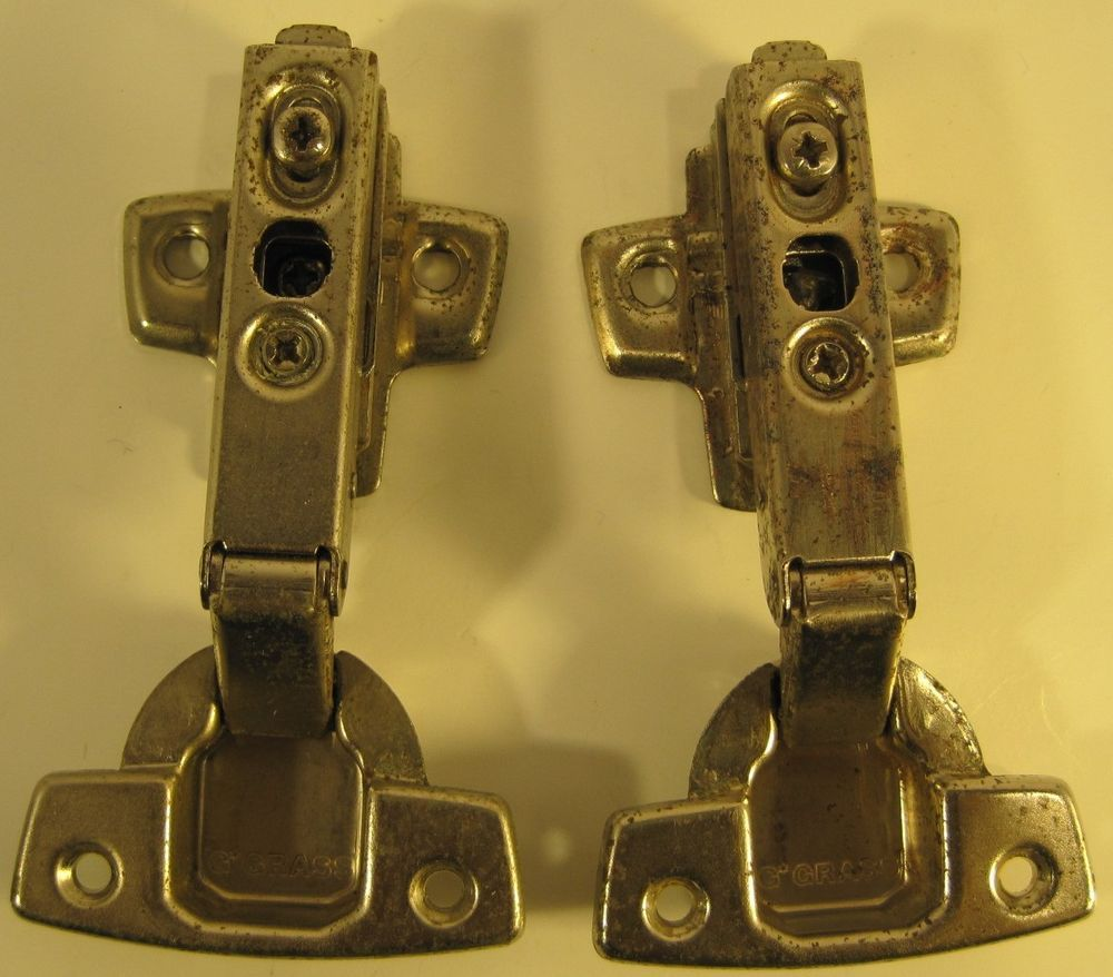 Grass Cabinet Hinges Pair Of 2 Model 260 1101 Made In Austria