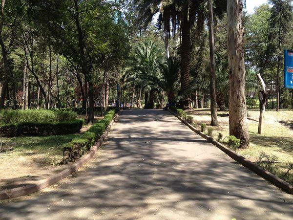 Parque Hundido #endondecorrer