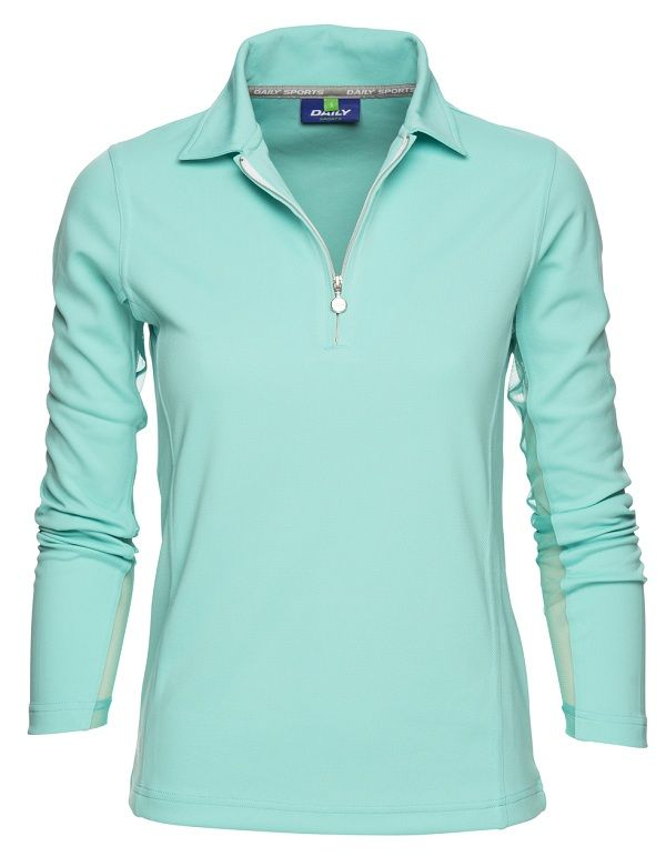 Macy Long Sleeve Polo Shirt our long sleeve polo shirt is crafted from soft  technical material 769862274c