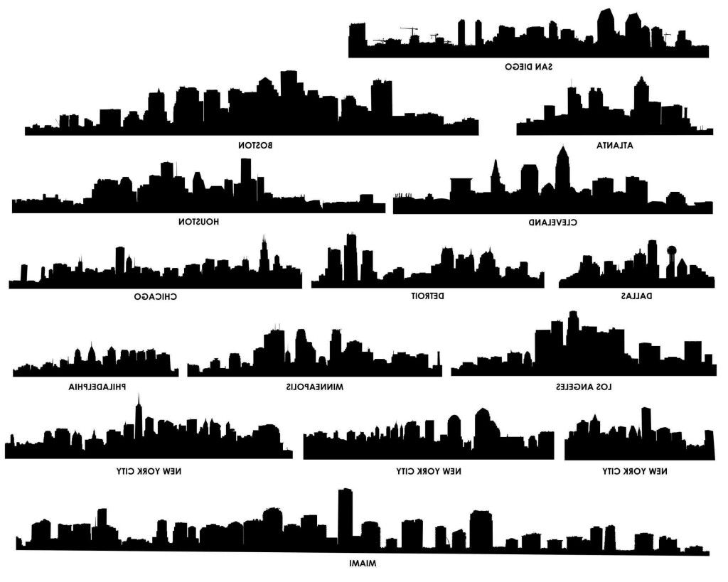 Big City Skylines For Tattoo References Building Silhouette Cityscape Silhouette Skyline Tattoo