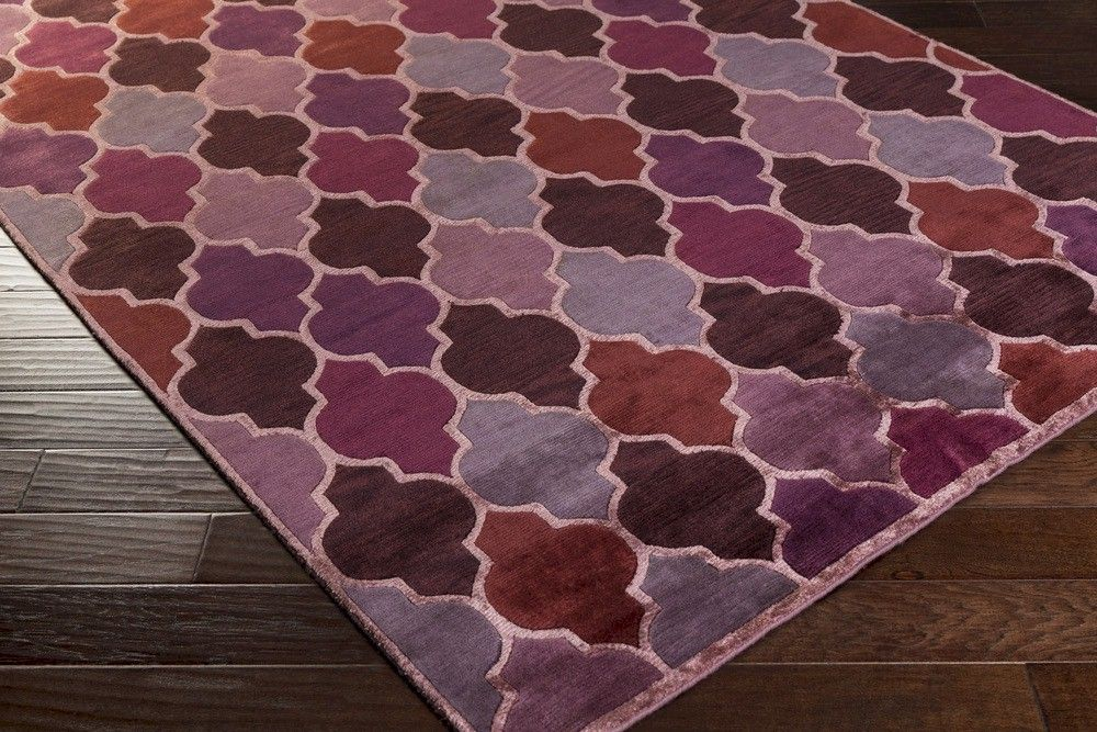 Image Of Eggplant Colored Area Rugs Design