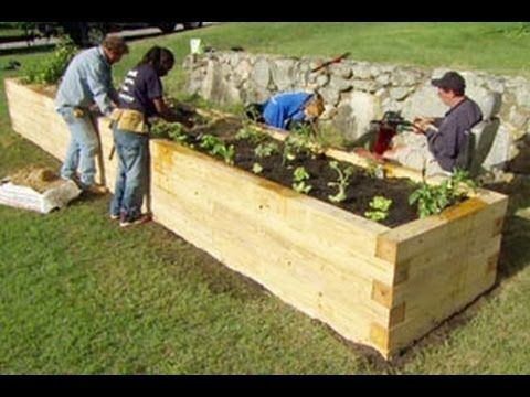 How To Plant A Raised Garden Bed This Old House Youtube With