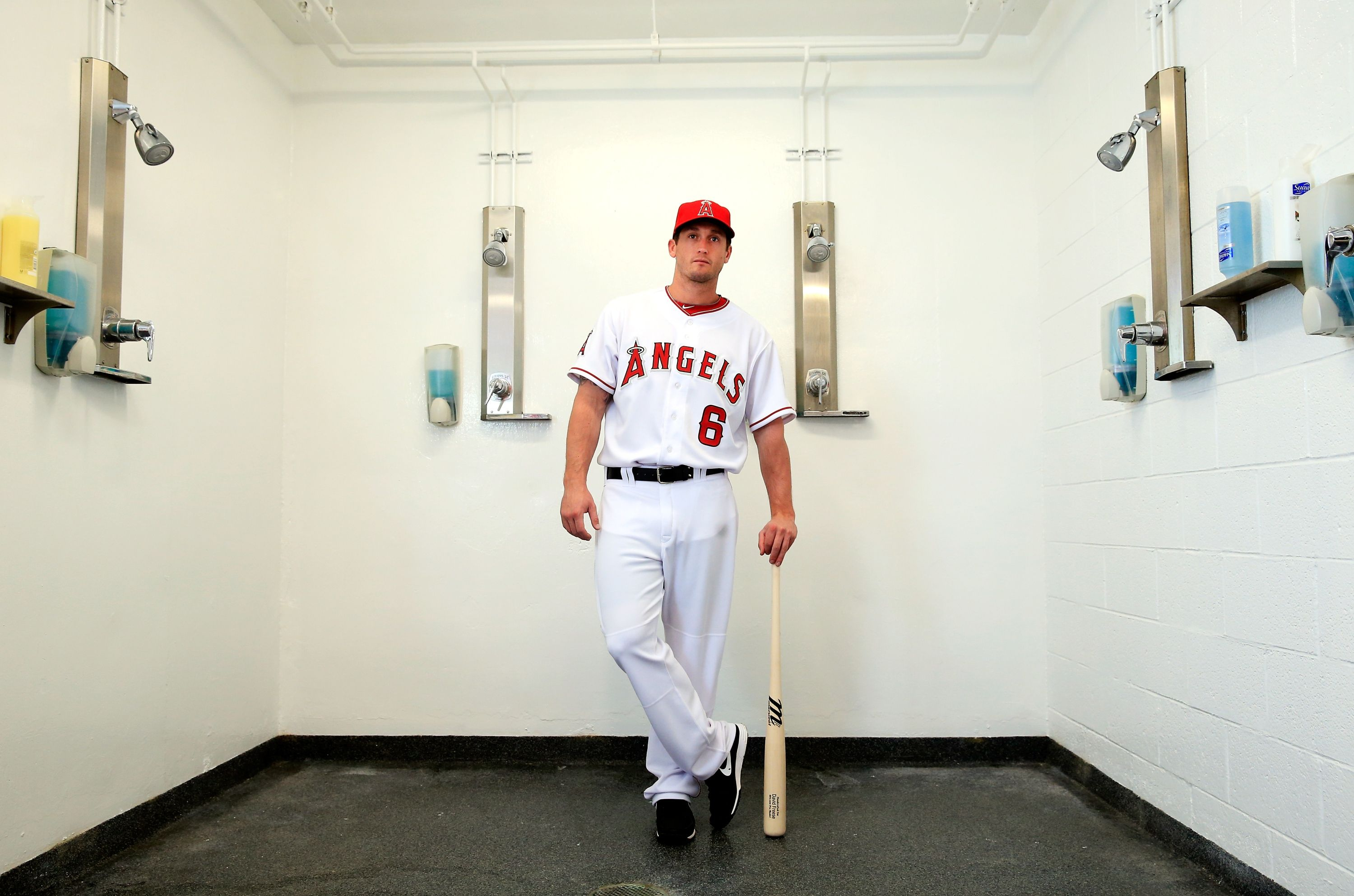 Tempe Az February 26 David Freese 6 Poses During Los Angeles Angels Photo Day On February 26 2014 In Tempe Arizona Los Angeles Angels Sport Man Photo