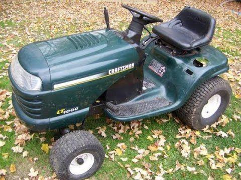 Craftsman Lt1000 Won T Start Repaired Youtube Repair Craftsman Tractors