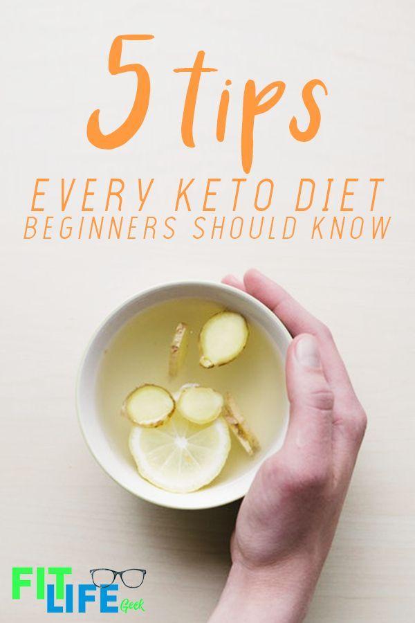5 Tips Every Keto Diet Beginner Should Know - Fit Life Geek #ketodietforbeginners