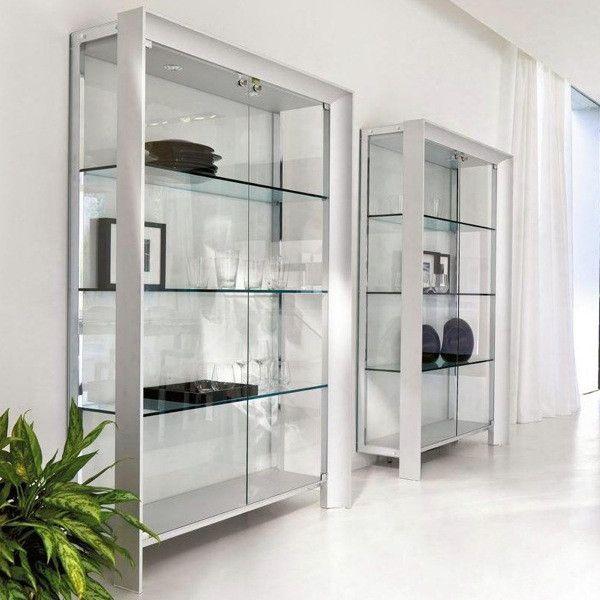 Miami Modern Glass Curio In 2019