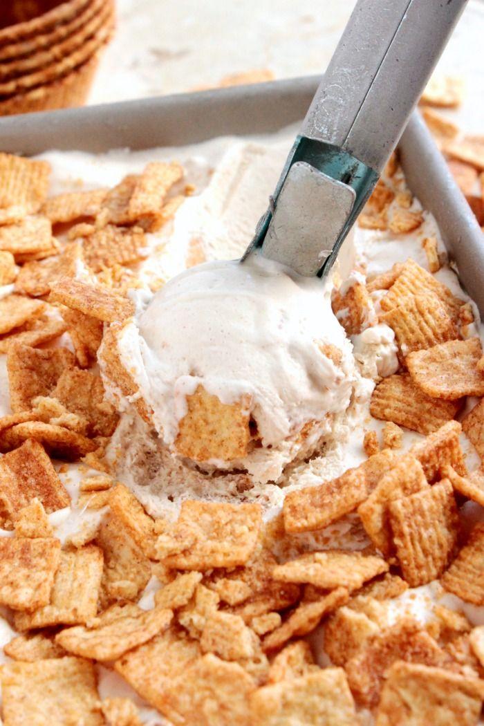 No Churn Cinnamon Toast Crunch Ice Cream - Big Bear's Wife