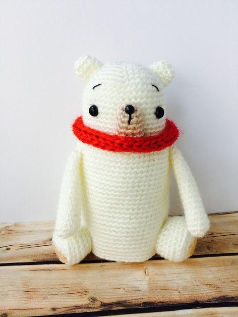 patron bertoso navidad oso polar berto rulez | Amigurumi | Pinterest ...