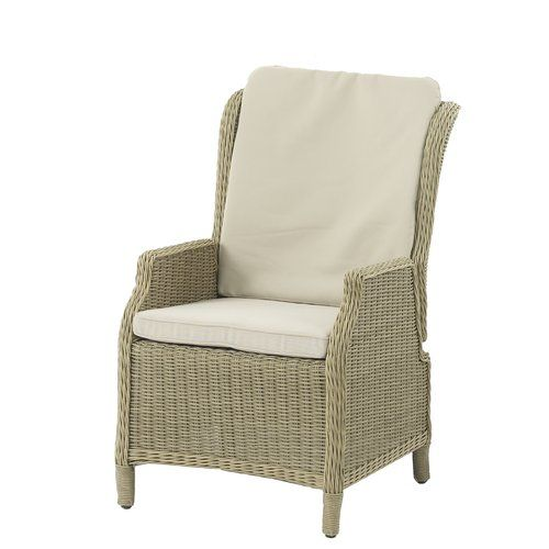 Oakridge Reclining Garden Chair with Cushion dCor design