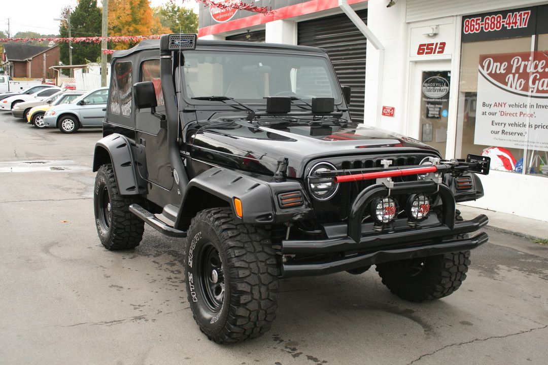 Used 2002 Jeep Wrangler X 72k Milesfor Sale Knoxville Tn 11 800 00 Contact 865 688 4417
