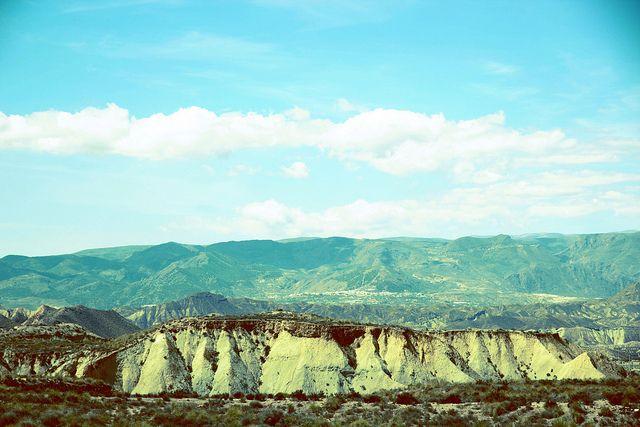 Desierto de Tabernas by Miguel Ángel Soto, via Flickr