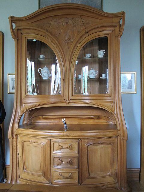 Maison Bergeret 1904 Salle A Manger 2 Rue Lionnois Nancy 54 Art Nouveau Furniture