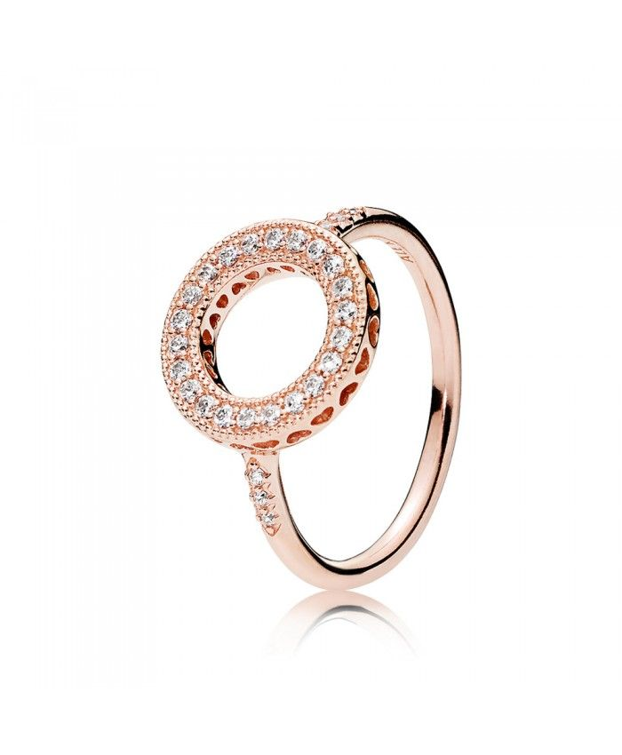c480cd6e1 Pandora Hearts Of Pandora Halo Ring 181039cz | pandora -charms ...