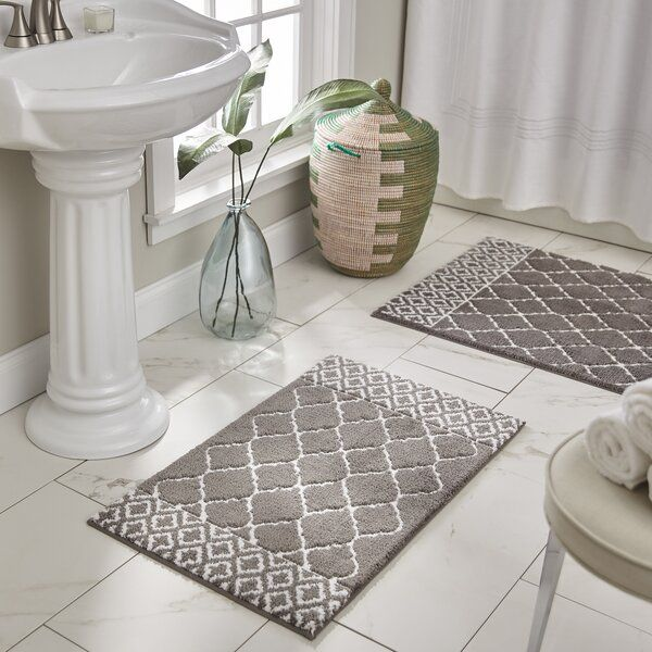 Bring Warmth And Color To Your Bathroom With These Decorative Bath Rugs Their Plush Bath Rug Sets Are Soft And Warm On Your Bath Rugs Bath Rug Bath Rugs Sets