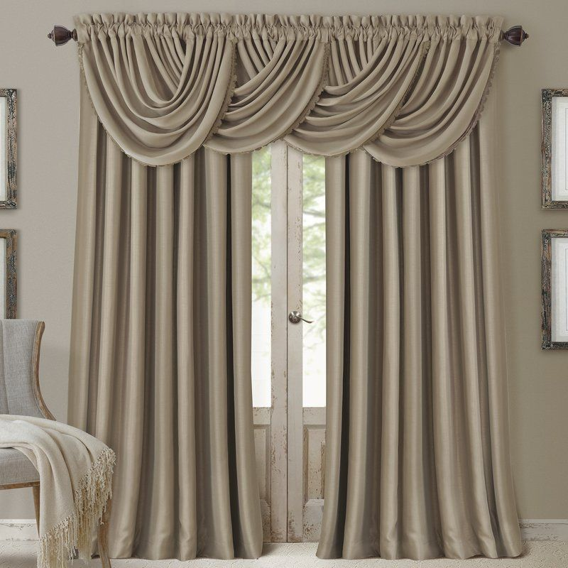 """Ardmore Waterfall 36"""" Long Curtain Valance"""
