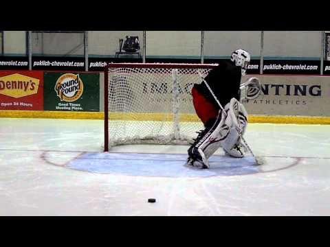 Goalrobber Drill Of The Week 24 High Low Glove Saves Hockey Training Hockey Goalie Goalie