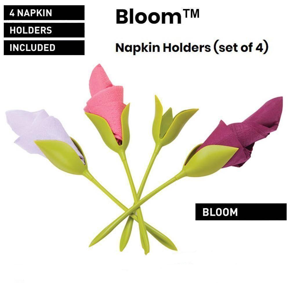 The Amazing Bloom Napkin Holders Napkin Folding Flower Napkin Holder Napkins