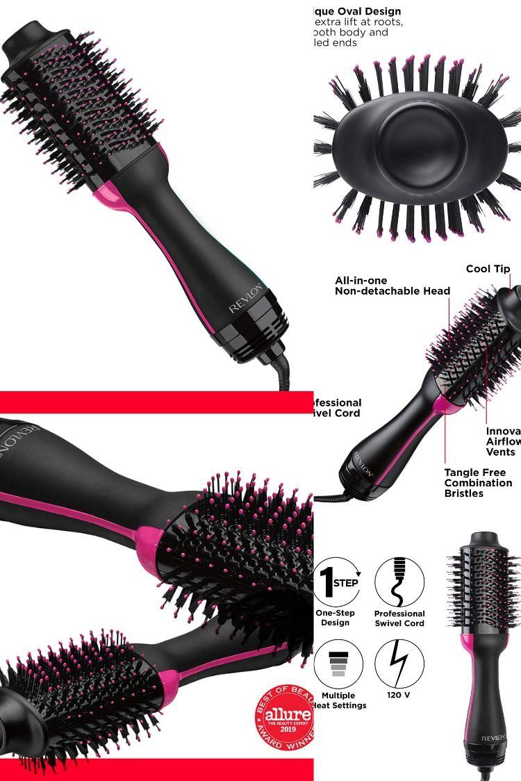 Revlon One Step Hair Dryer And Volumizer Hot Air Brush Black In 2020 Hair Spray Bottle Hair Care Hair Dryer
