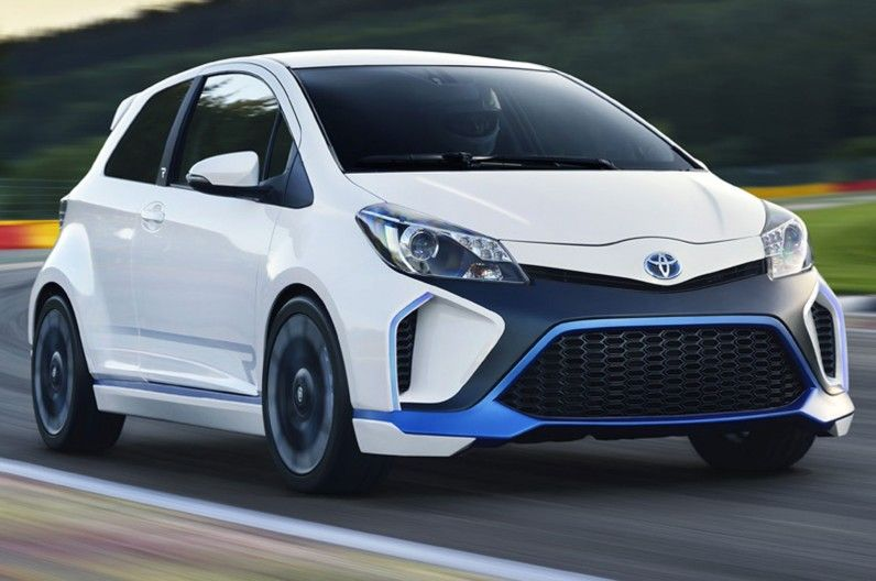 Photo Gallery Toyota Yaris Hybrid R Concept Images Released