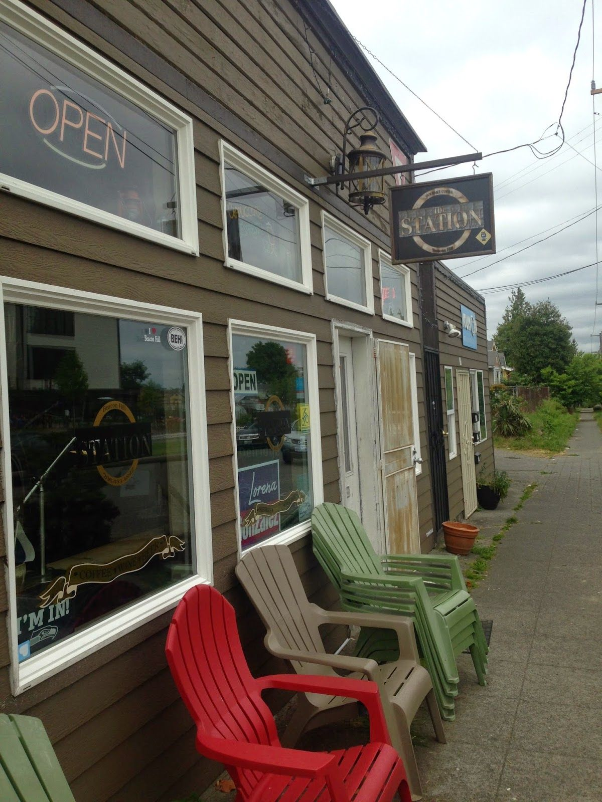 The Station Coffee Shop Beacon Hill Seattle Wa Outdoor Decor Coffee Shop Great Places