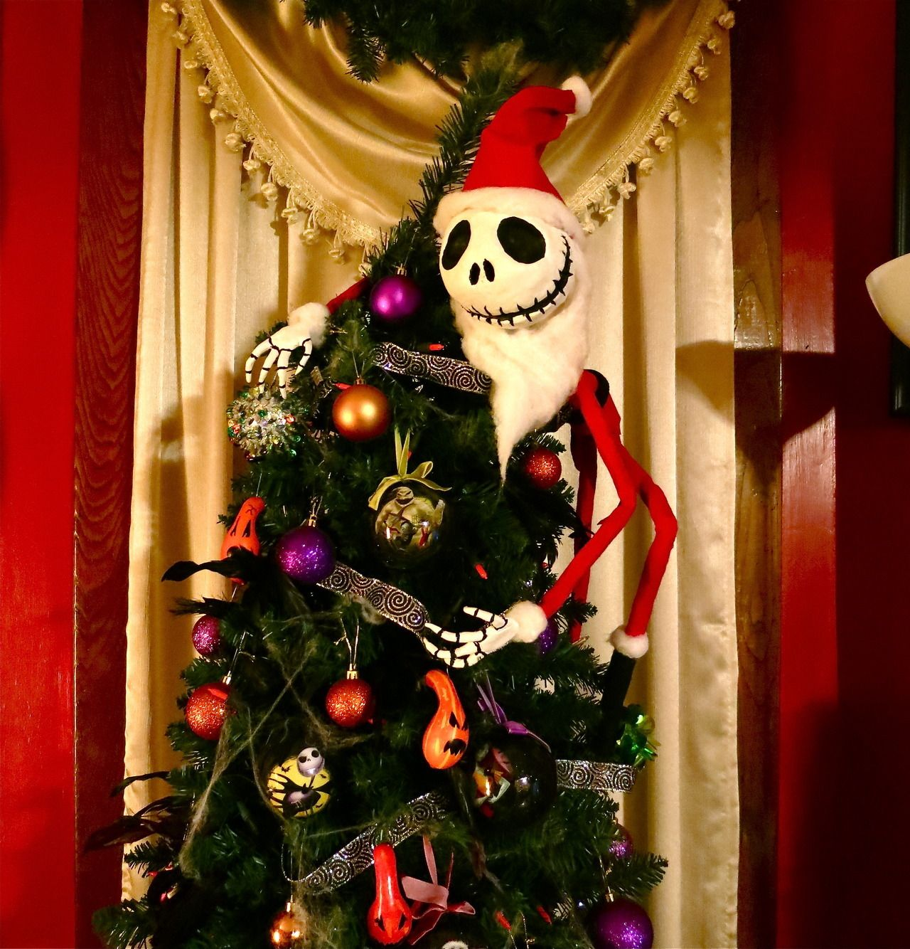 Art By Lavinia — My Jack Skellington Christmas Tree Topper I ...
