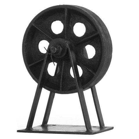 Blackstone Wheel Iron finish - Black