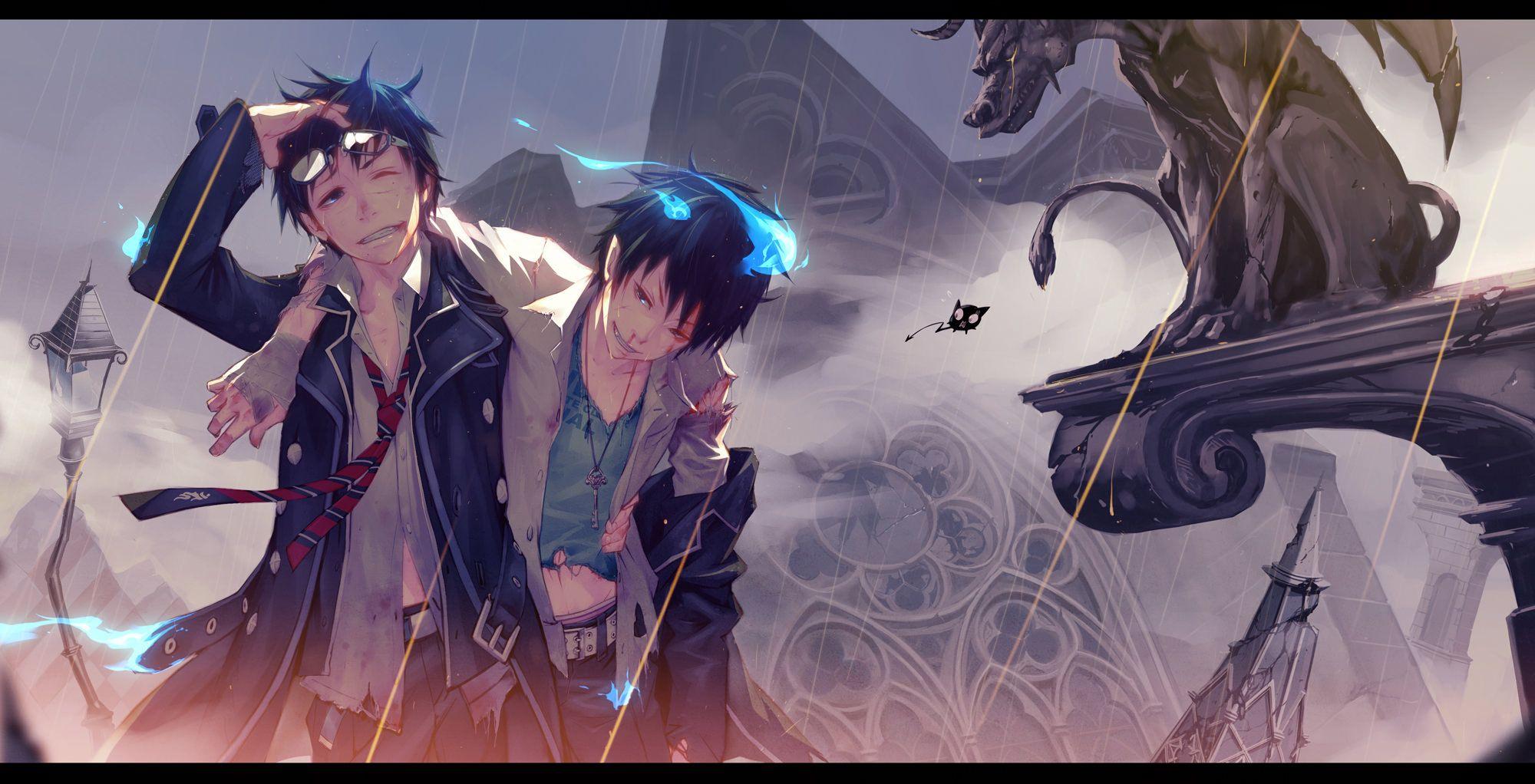 Nightcore Brother Lyrics Blue Exorcist Anime Blue Exorcist Anime 1920x1080
