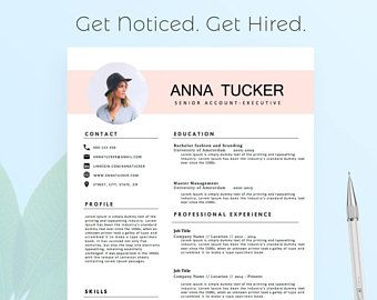 How To Do A Reference Page For A Resume Impressive Modern Resume Template For Word 13 Page Resume  Cover Letter  .
