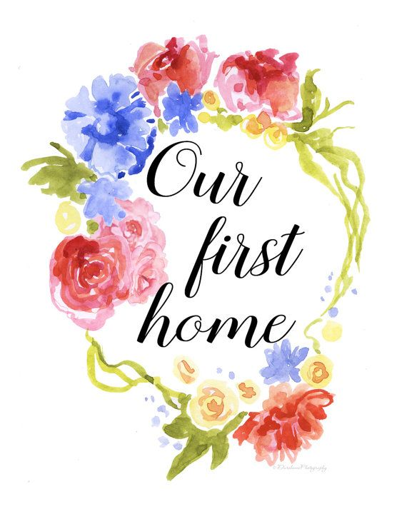printable wall art our first home printable housewarming wall art rh pinterest com housewarming clipart free housewarming clipart free