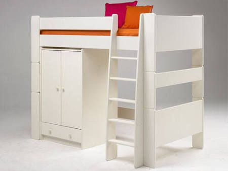 Ikea kinderhochbett mit schreibtisch  single bed with wardrobe underneath - Google Search | Felix Fads ...