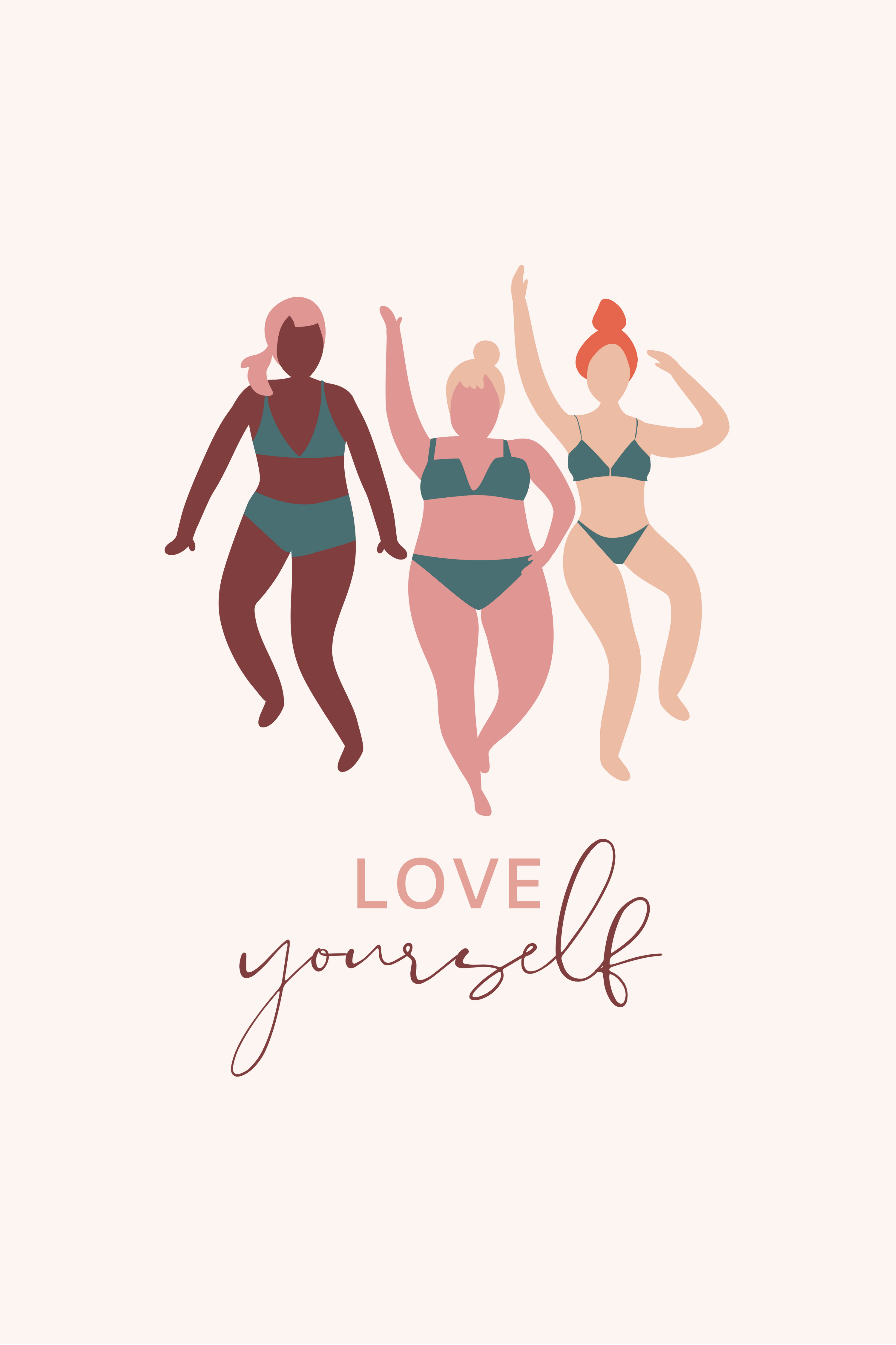 Love Your Body Positive Quote Print Positive Body Image Etsy In 2020 Body Positive Quotes Body Positivity Body Quotes