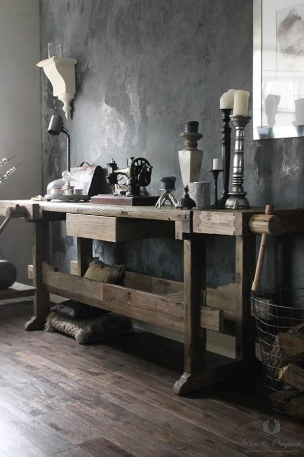 Marrakech walls in de kleur black truffle toegepast in de woonkamer mooi pinterest thuis - Decoratie kamer thuis woonkamer ...