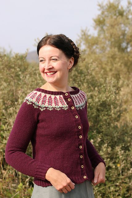 Foxglove Pattern By Kate Davies Designs Knitting Designs